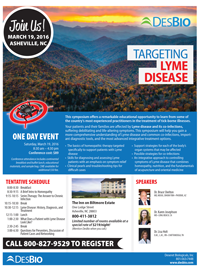 One-Day Lyme Symposium @ The Inn on Biltmore Estate | Asheville | North Carolina | United States