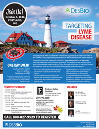 One Day Event: Targeting Lyme Disease @ Embassy Suites Portland | Portland | Maine | United States