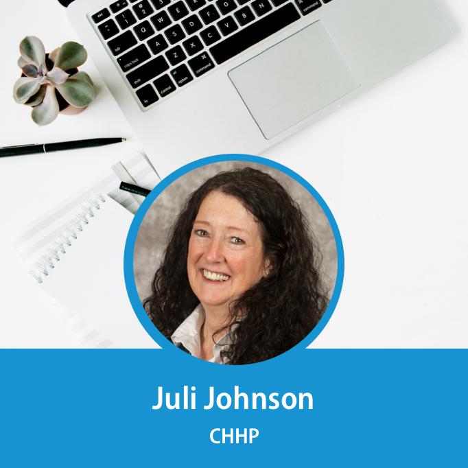 Speaker Juli Johnson
