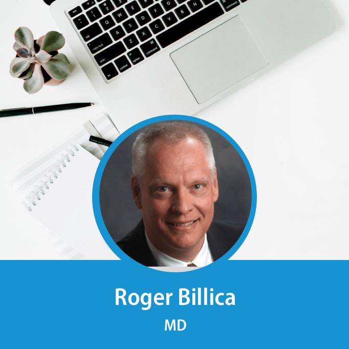 Speaker Roger Billica
